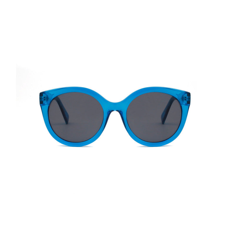 A.Kjaerbede Handmade Sunglasses Butterfly - Blue Transparent