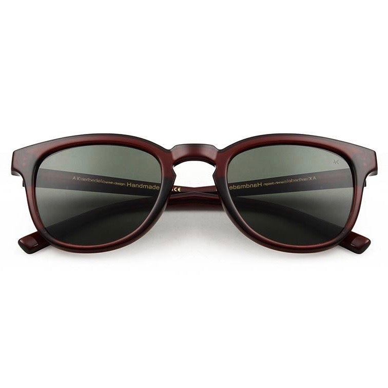 A.Kjaerbede Handmade Sunglasses - Brown Transparent