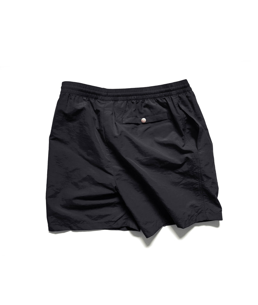 Alife New York Nylon Run / Swim Shorts - Black