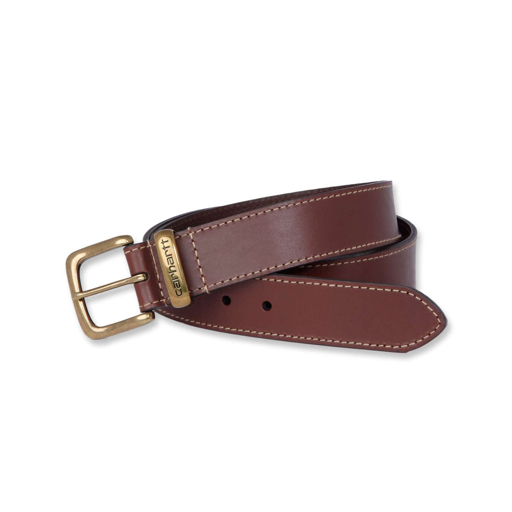 Carhartt Leather Jean Belt - Carhartt Brown