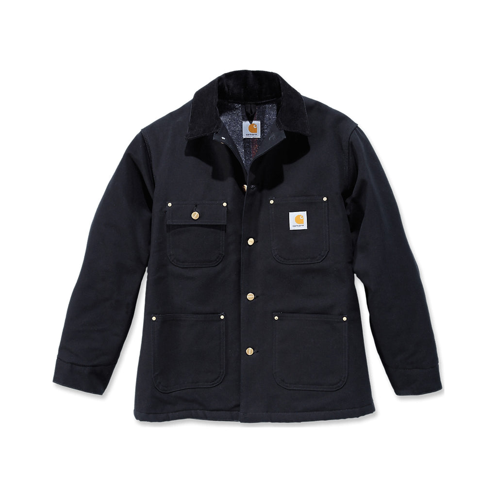 Carhartt Workwear USA Firm Chore Coat - Black