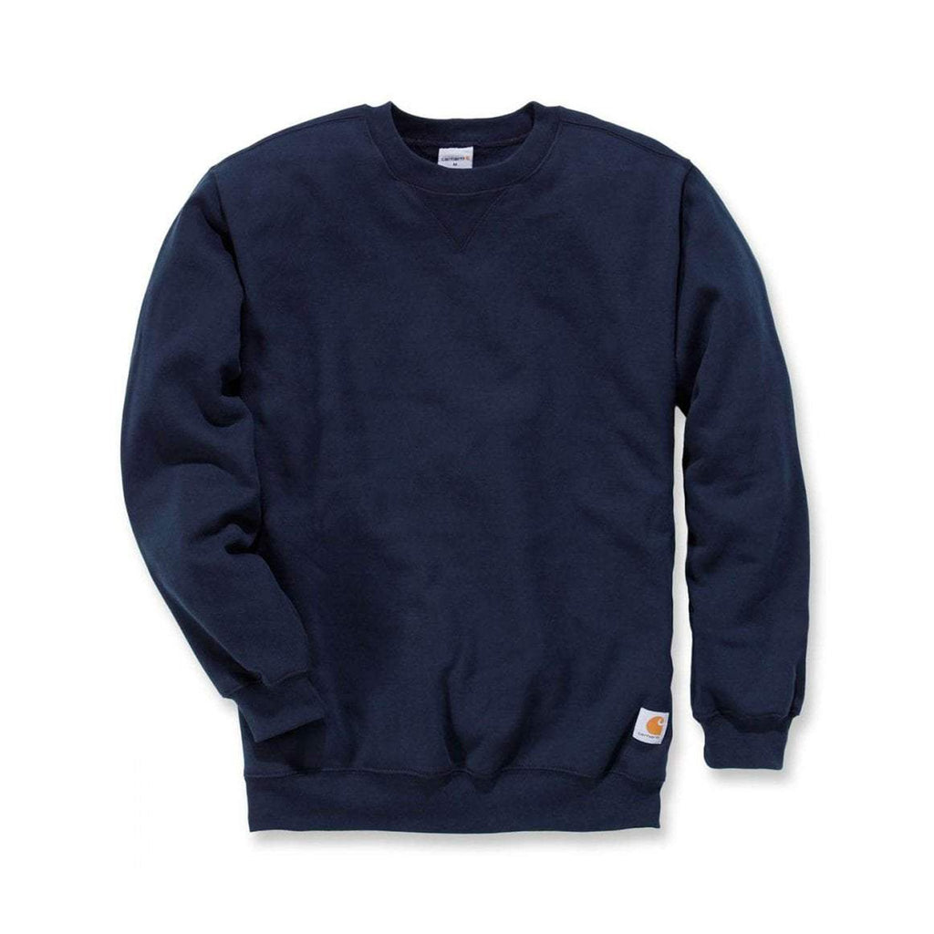 Carhartt workwear USA Midnight Crewneck Sweatshirt - Navy