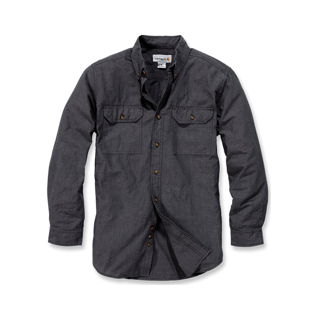 Carhartt Fort solid shirt - Black Chambray