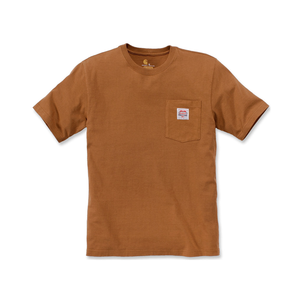 Carhartt Heritage K87 Icon T-shirt - Brown