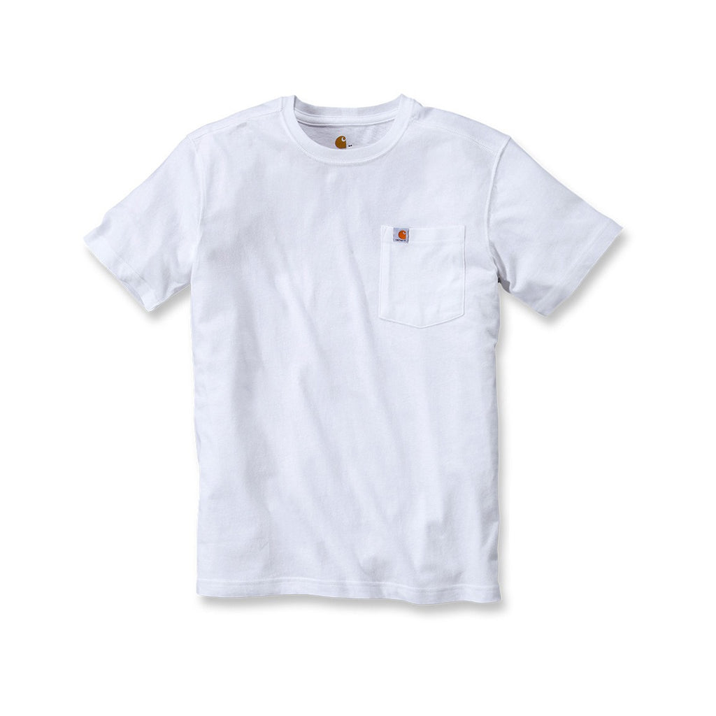 Carhartt Maddock Pocket T-Shirt - White