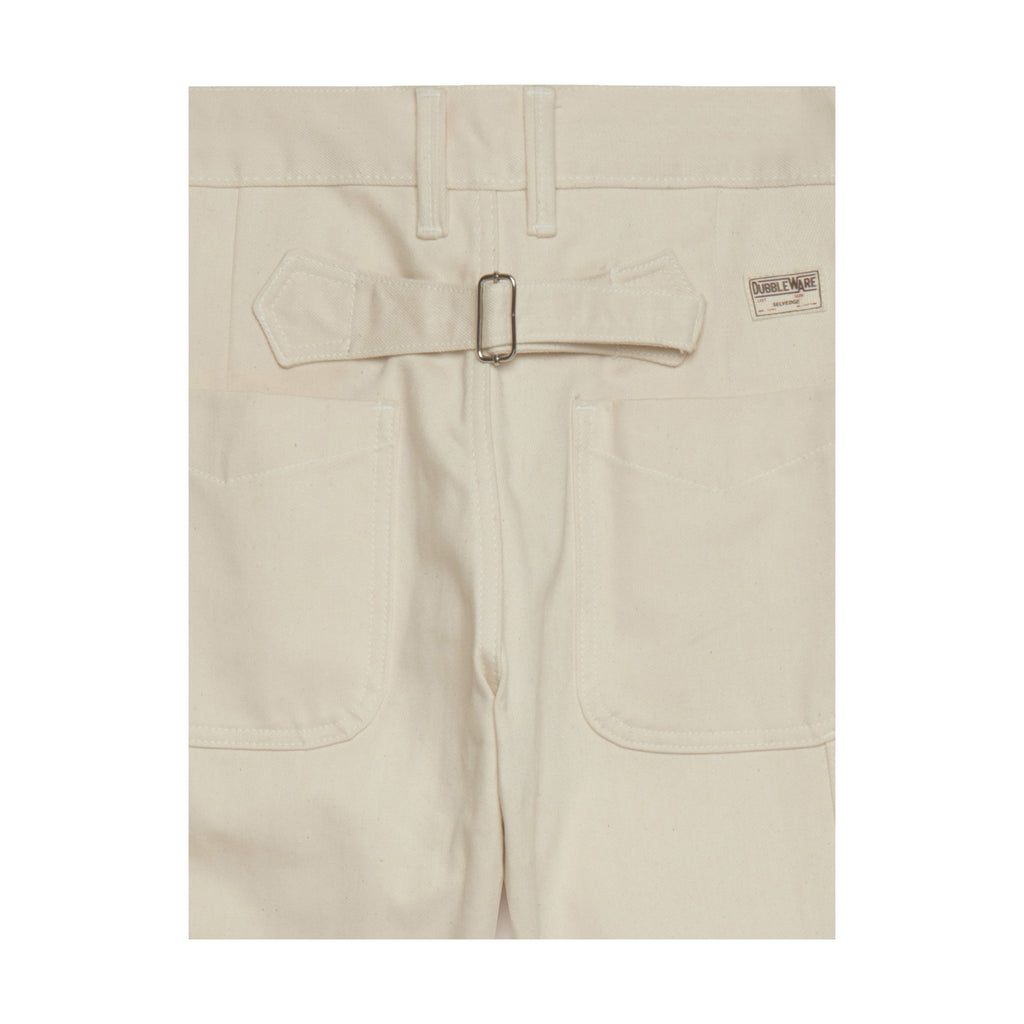 Dubbleware Avignon Carpenter Selvedge Denim - Ecru