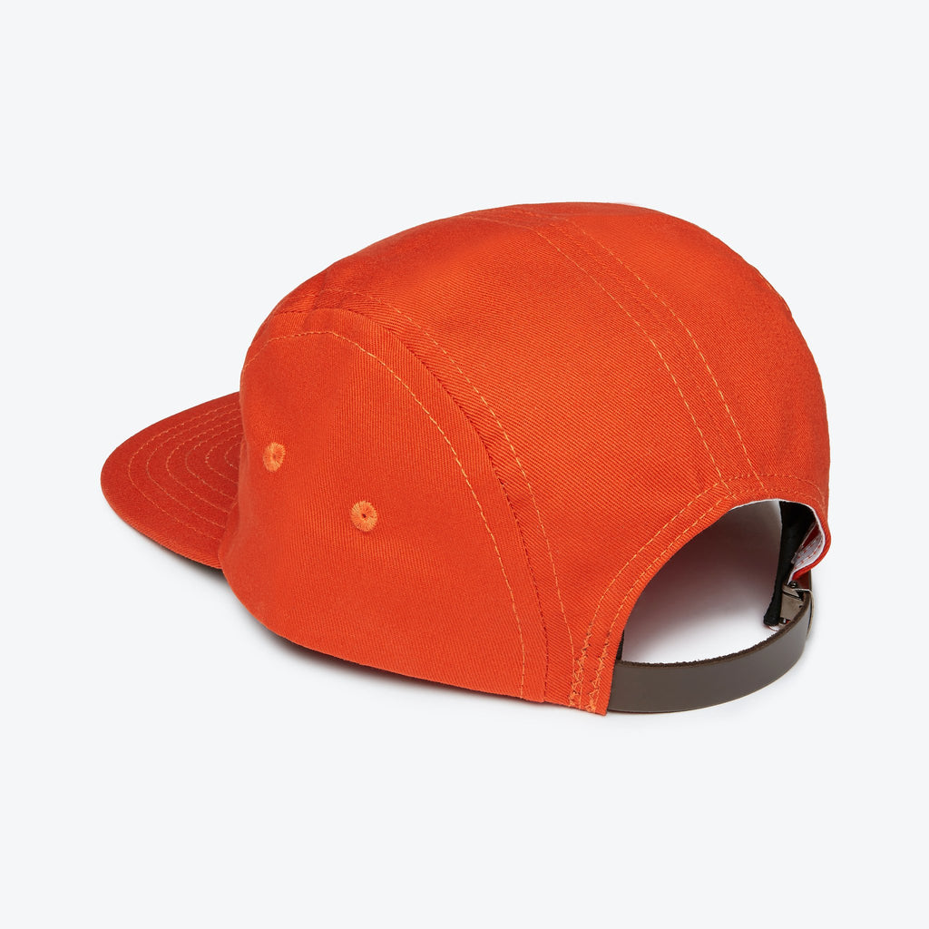 Ebbets Field Flannels Five Panel Cotton Cap - Orange