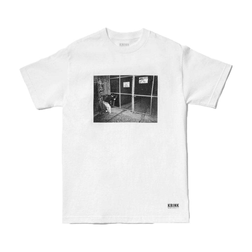 Krink Ink USA Vintage Photo Fence Tee - White / Black