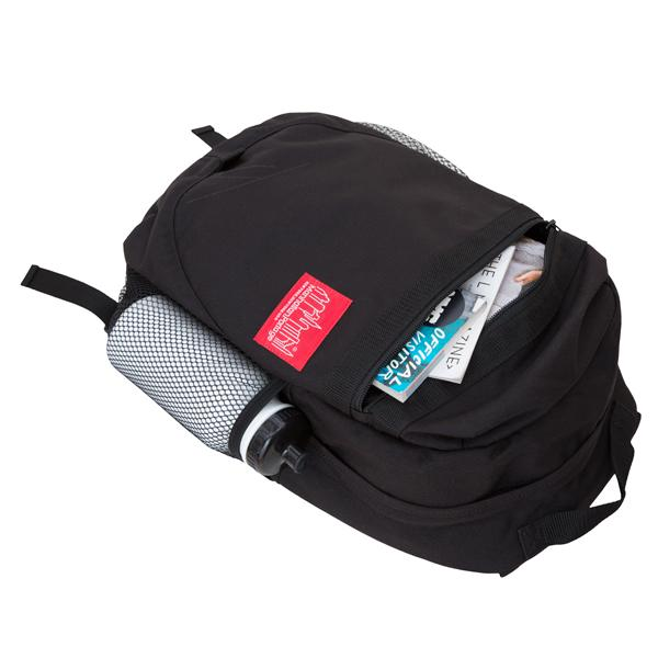 Manhattan Portage Critical Mass Backpack Bag - Black