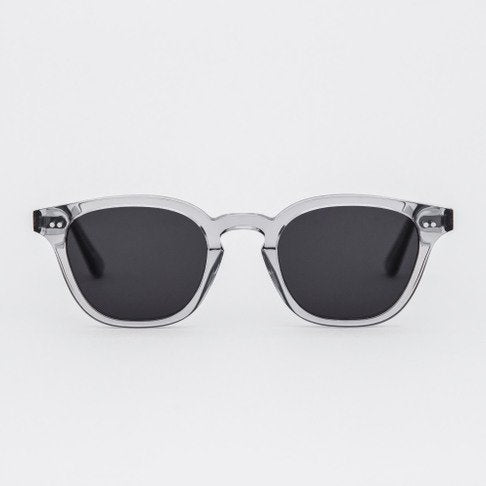 Monokel HandCrafted Eyewear River - Grey with Solid Grey Lens