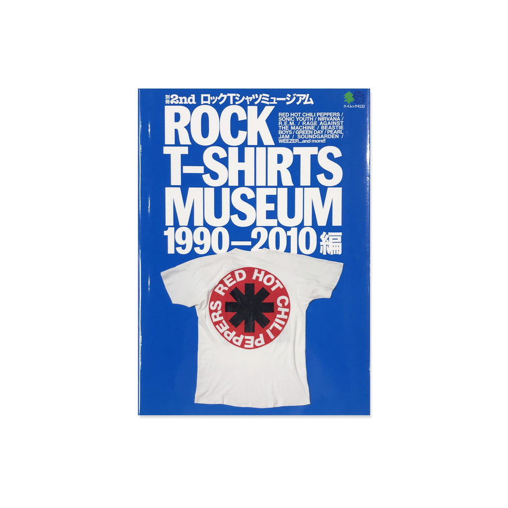 Rock T-Shirt Museum 1990-2010 Book - Japan Import