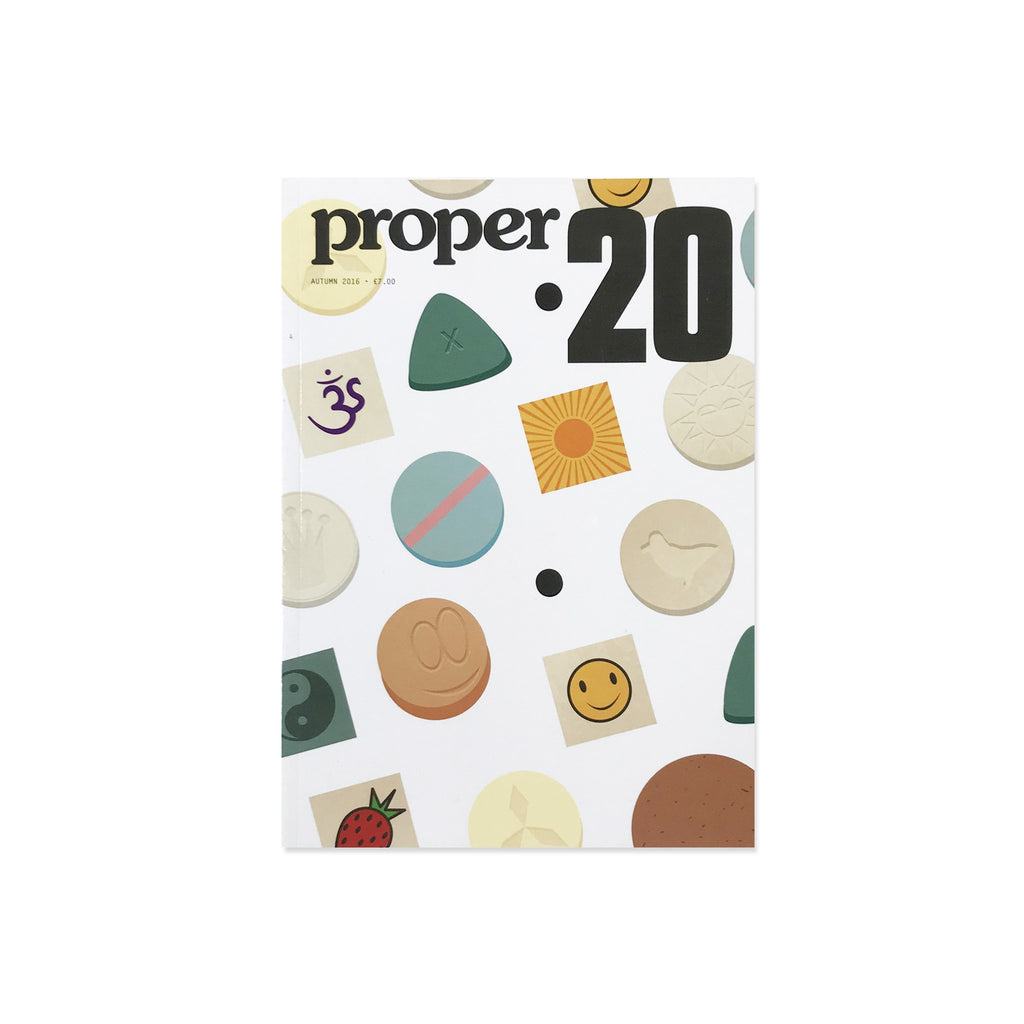 Proper Magazine Issue 20 - Pills Cover