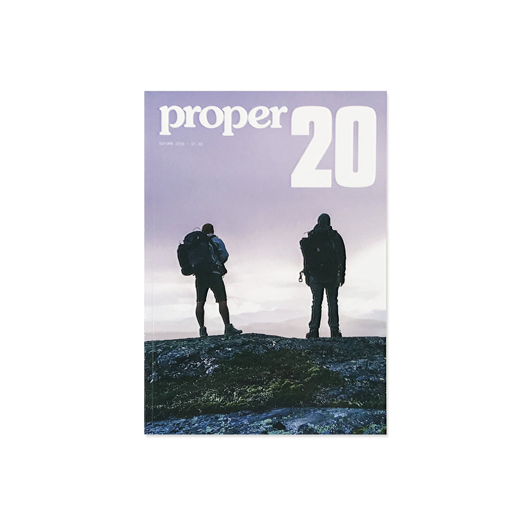 Proper Magazine Issue 20 - Hiker Cover