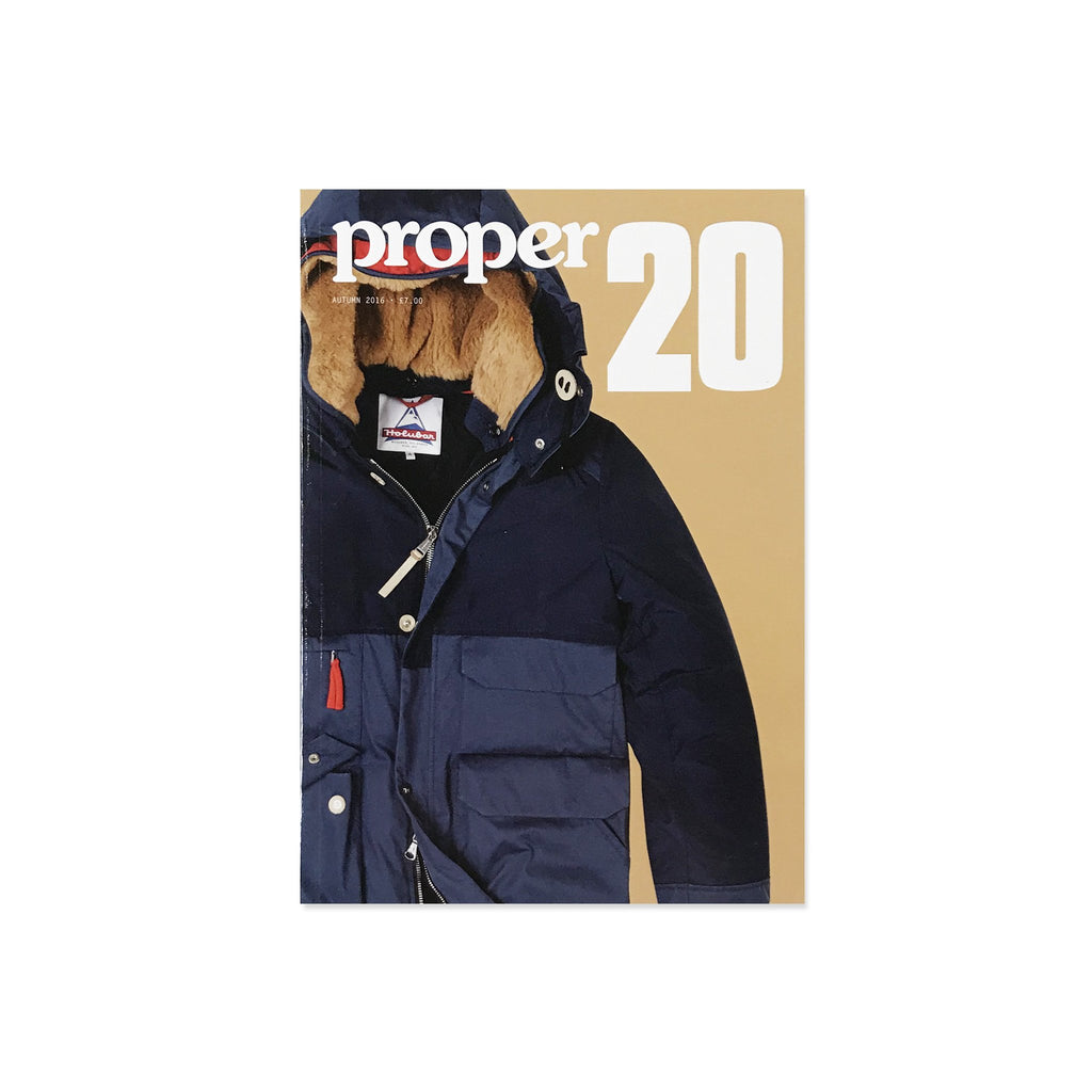 Proper Magazine Issue 20 - Mountain Parka Cover
