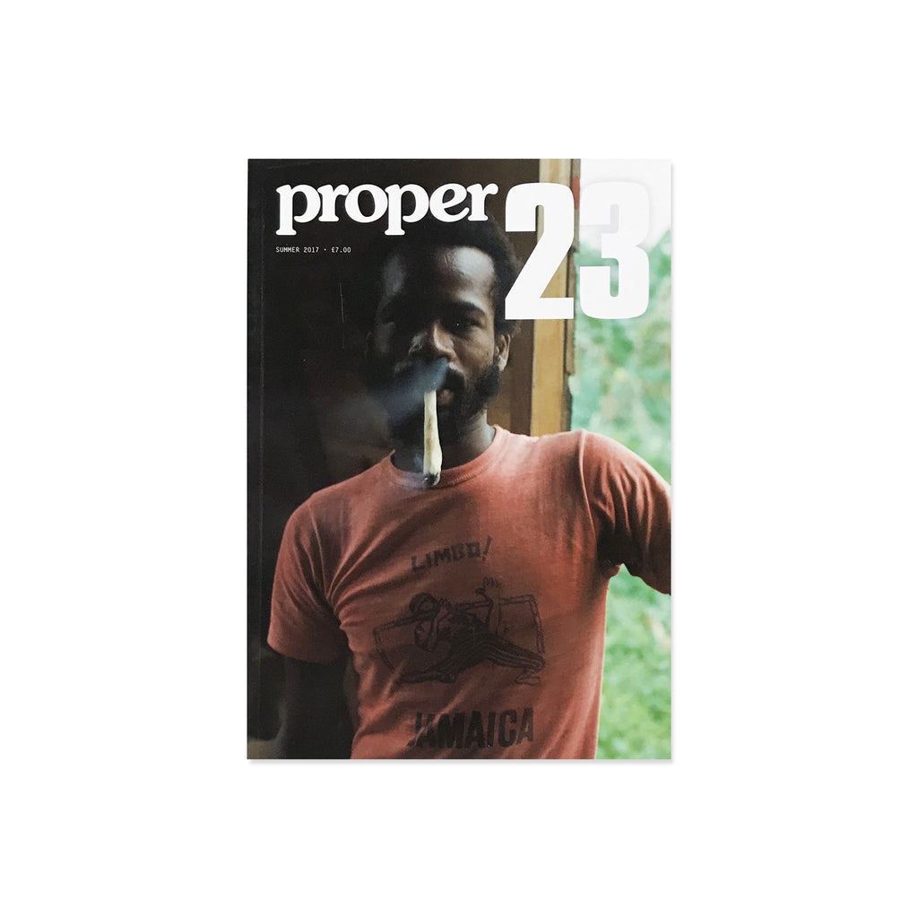 Proper Magazine Issue 23 - Collyhurst Cover
