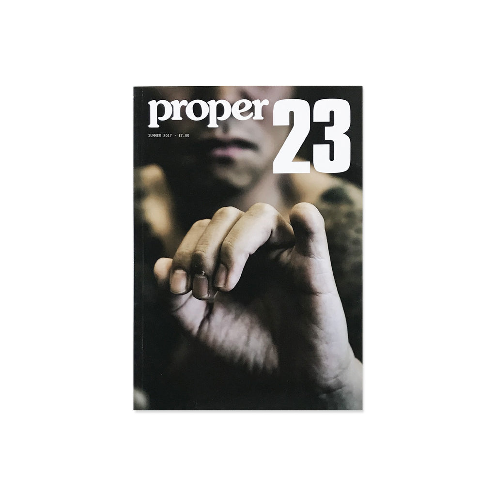 Proper Magazine Issue 23 - Hand Cover