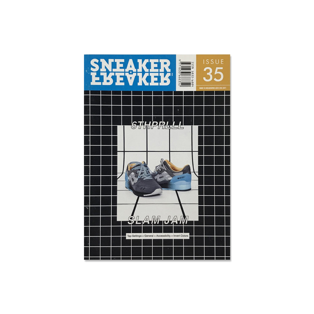 Sneaker Freaker Magazine  - Issue 35 Slam Jam