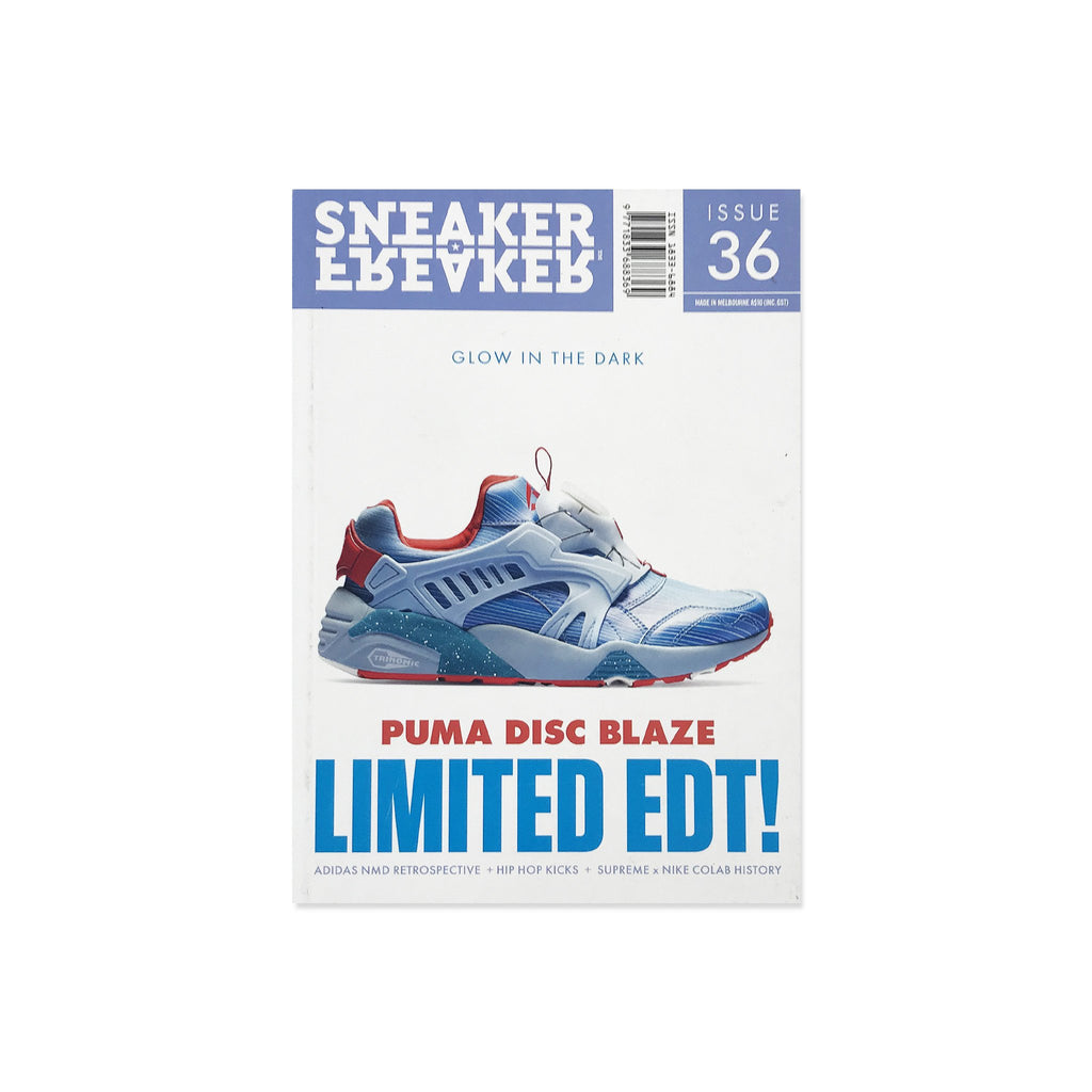 Sneaker Freaker Magazine  - Issue 36 Puma Disc Blaze