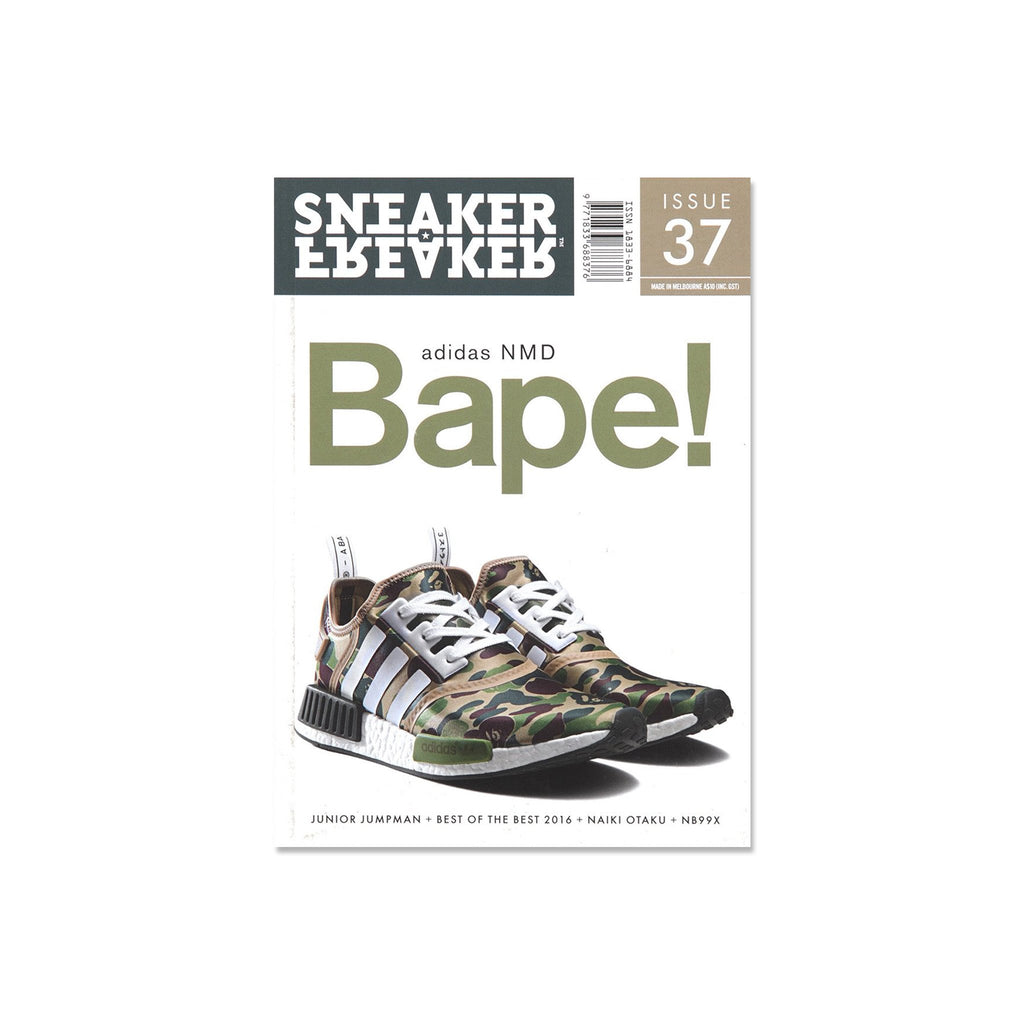 Sneaker Freaker Magazine  - Issue 37 Bape X Adidas NMD