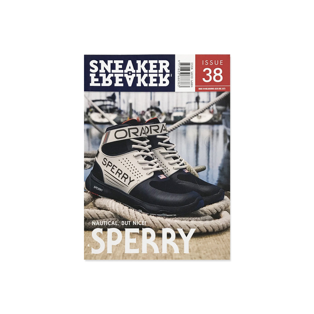 Sneaker Freaker Magazine  - Issue 38 Sperry