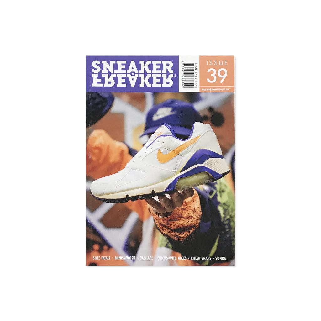 Sneaker Freaker Magazine  - Issue 39 Nike Air Max 180