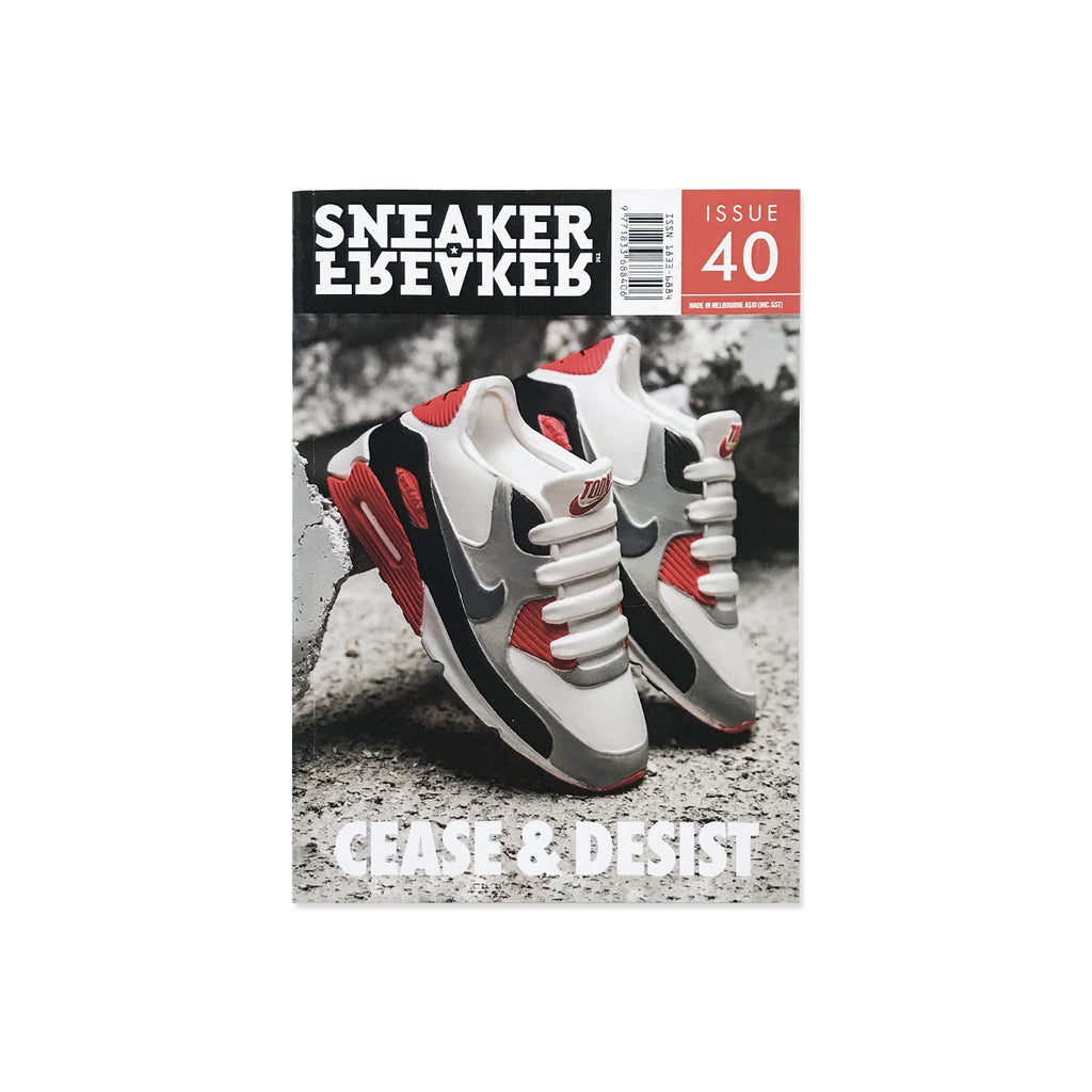 Sneaker Freaker Magazine  - Issue 40 Cease & Desist