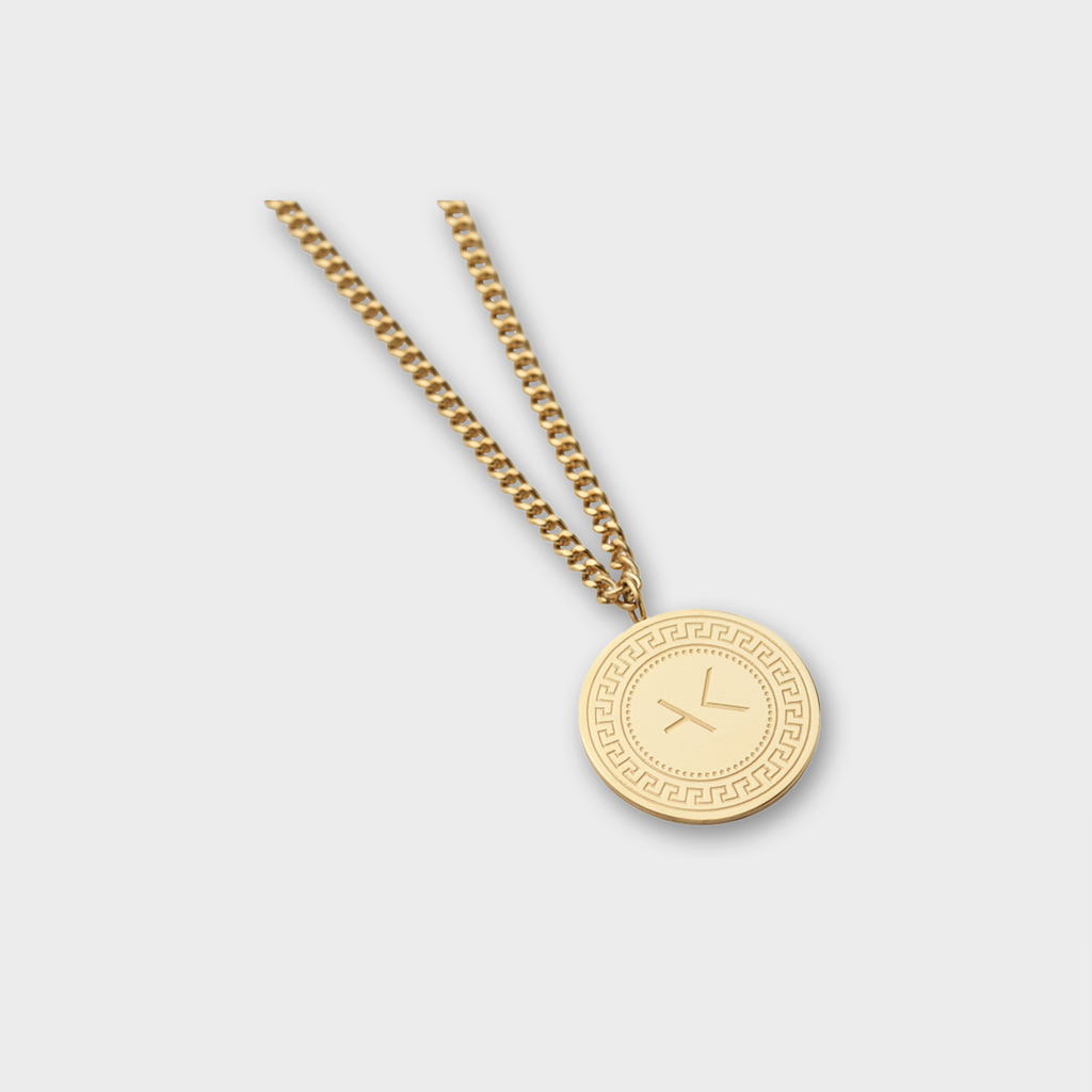 A.Kjaerbede 316 Stainless Steel Pendant Brody - Gold