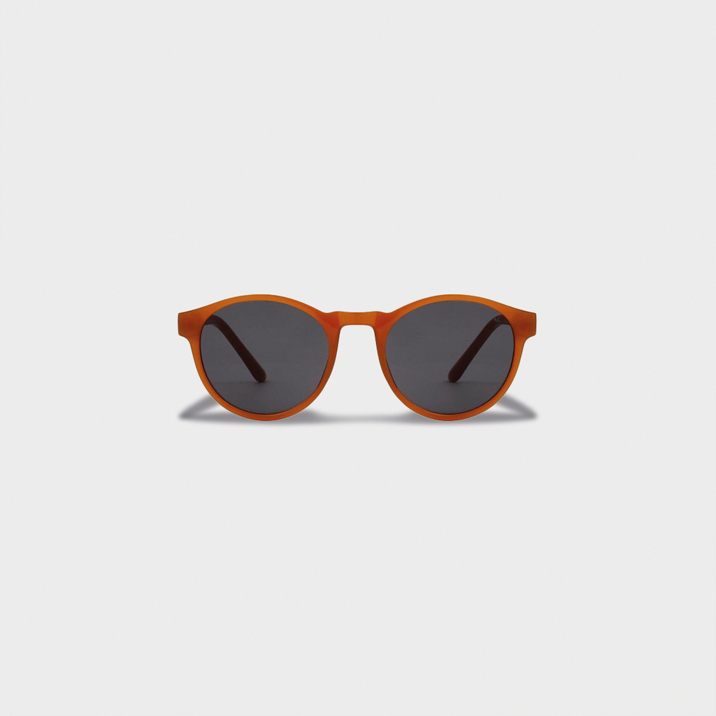 A.Kjaerbede Handmade Sunglasses Marvin - Yellow Transparent