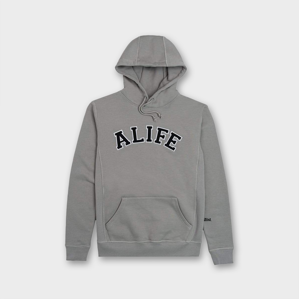 Alife New York Collegiate Hoodie - Grey