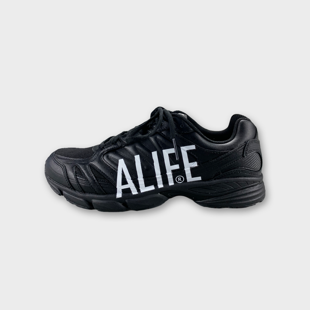 Alife New York The Runner Sneakers - Mars Black