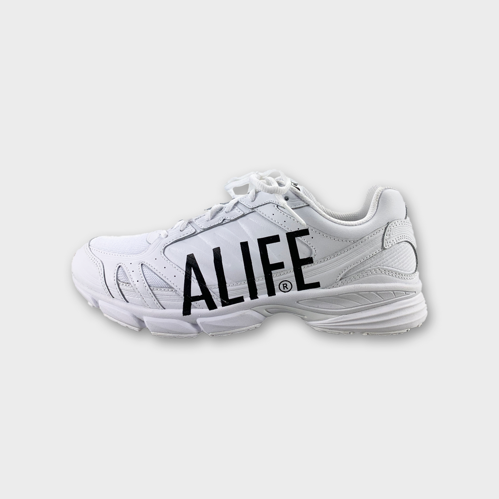 Alife New York The Runner Sneakers - Titanium White