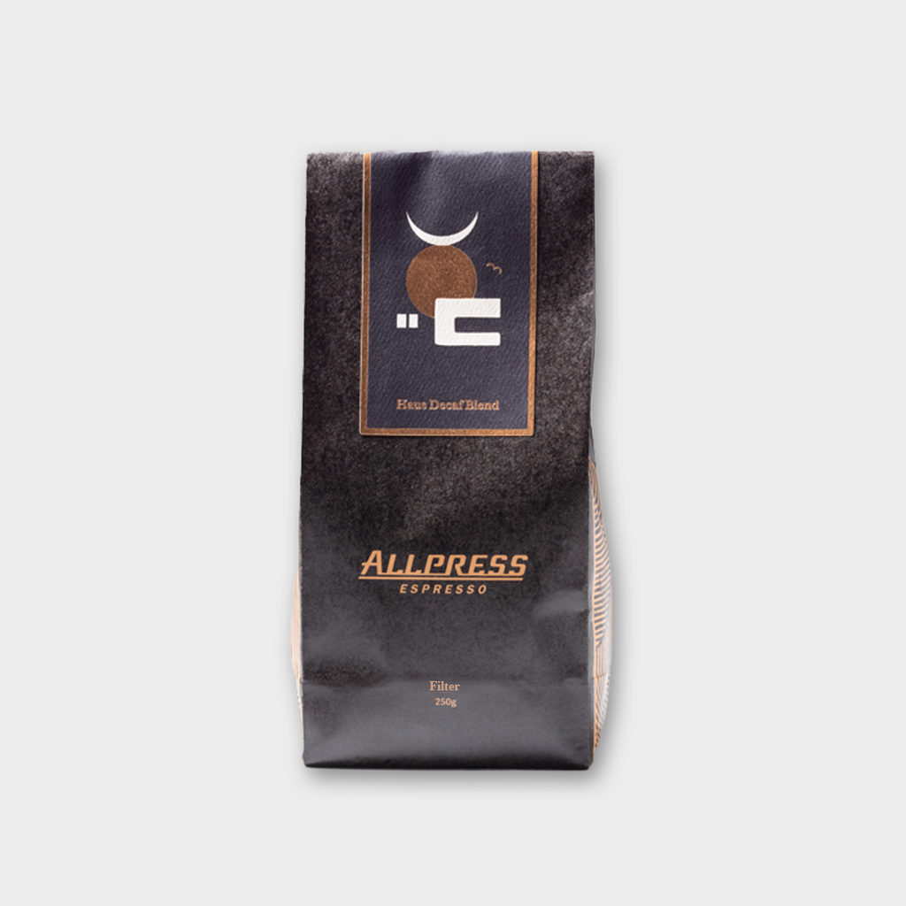 Allpress Espresso Coffee 'Haus Decaf' - Filter 250g