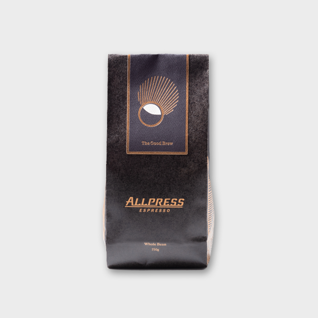 Allpress Espresso Coffee 'The Good Brew' - Whole Beans 250g