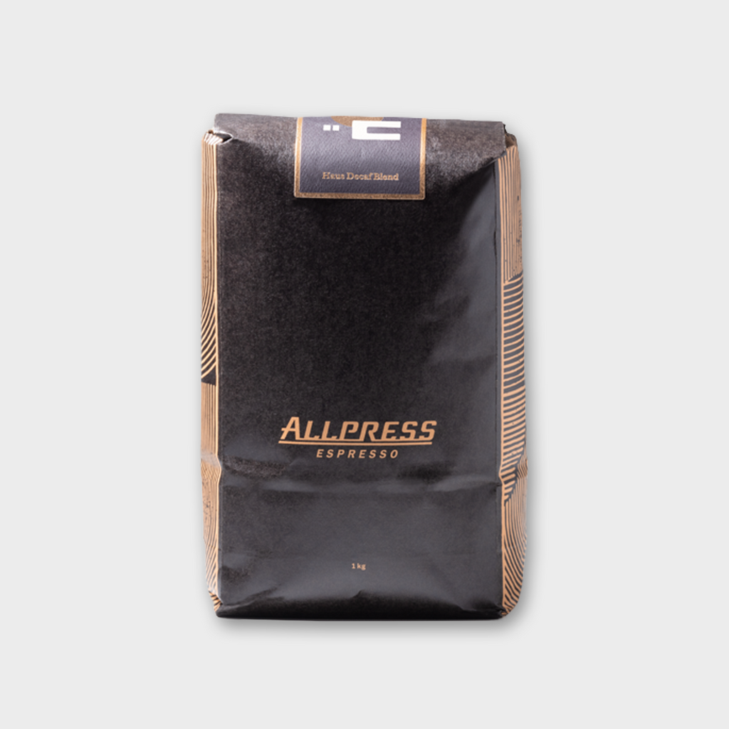 Allpress Espresso Coffee 'Haus Decaf' - Whole Beans 1Kg