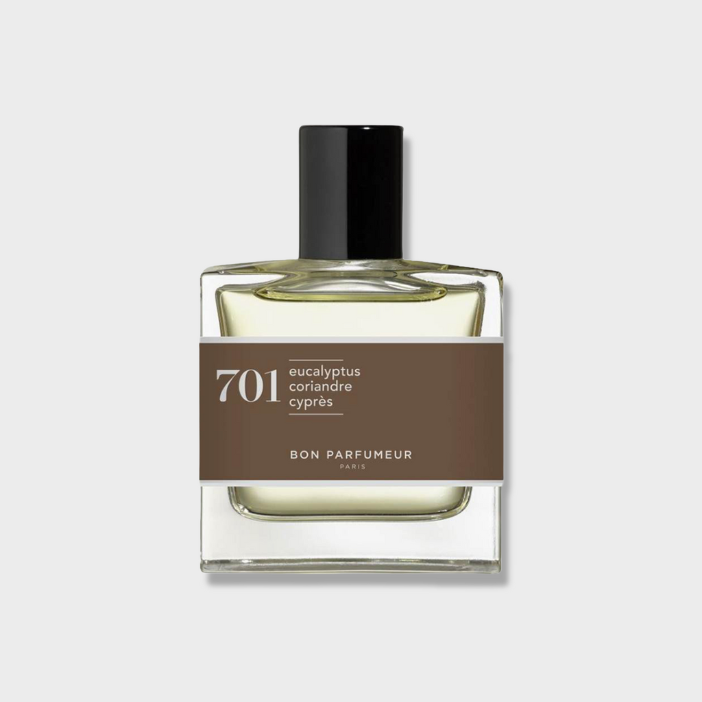 Bon Parfumeur Paris Eau De Parfum 701 - eucalyptus, coriander and cypress 30ml
