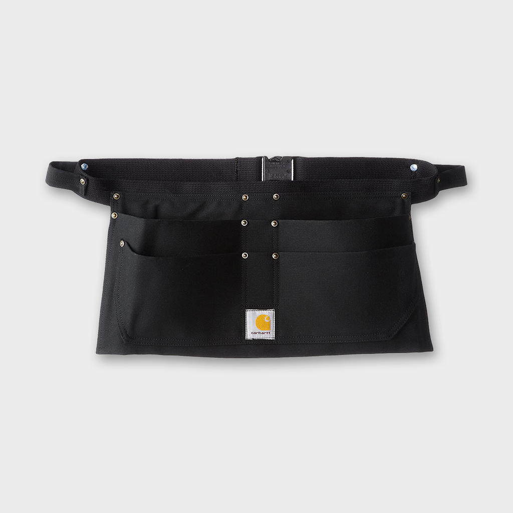 Carhartt Workwear USA Duck Tool Pocket Belt Apron - Black