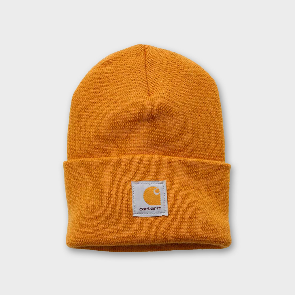 Carhartt Workwear USA Acrylic Watch Hat - Carhartt Gold