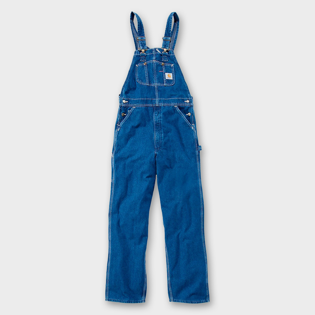 Carhartt Workwear USA Bib Overall - Darkstone denim