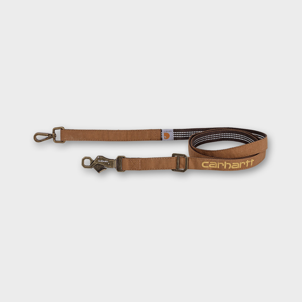 Carhartt Workwear USA Journeyman Dog Leash - Carhartt Brown
