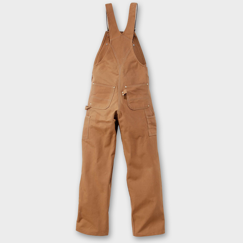 Carhartt Workwear USA Duck Bib Overall - Carhartt Brown
