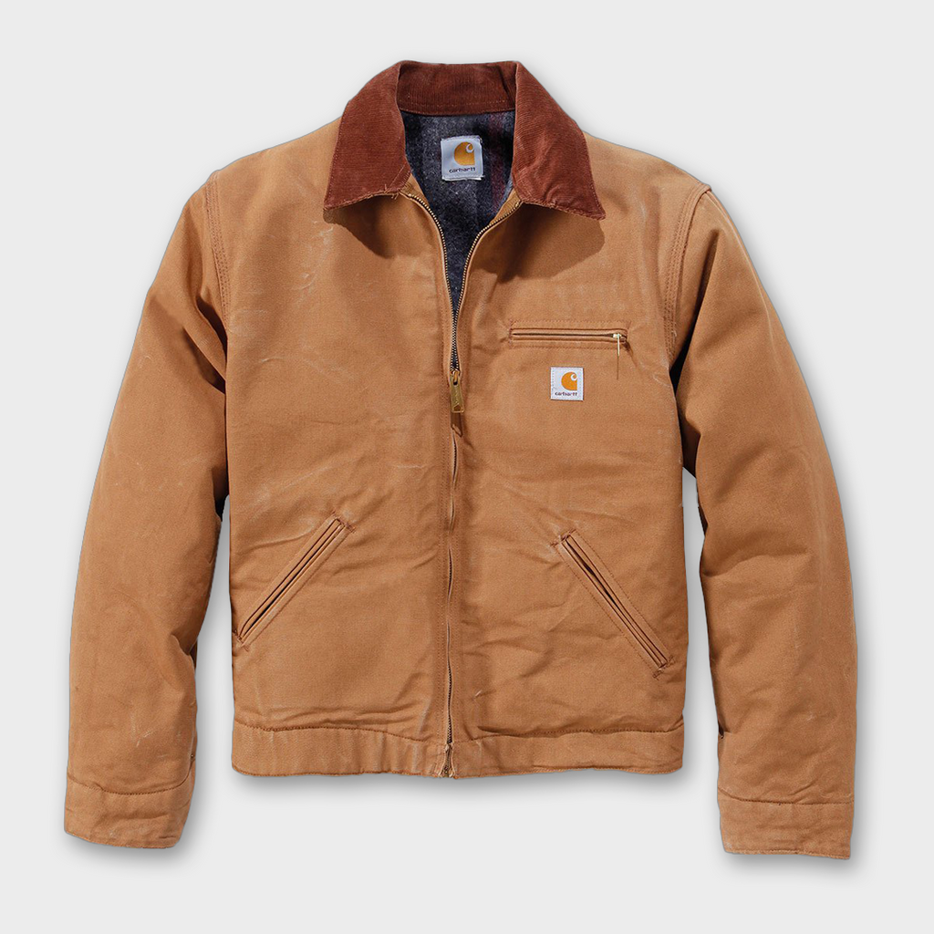 Carhartt Workwear USA Detroit Jacket - Carhartt Brown