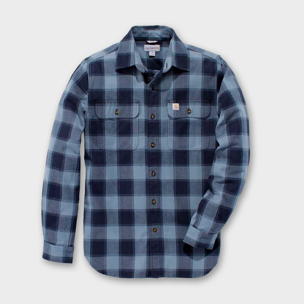 Carhartt Workwear USA Hubbard Slim Fit Shirt - Steel Blue
