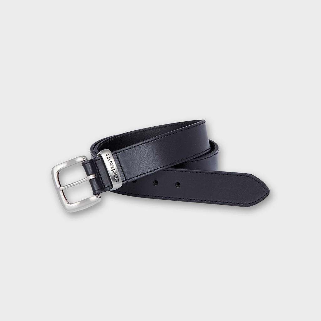 Carhartt workwear USA Leather Jean Belt - Black
