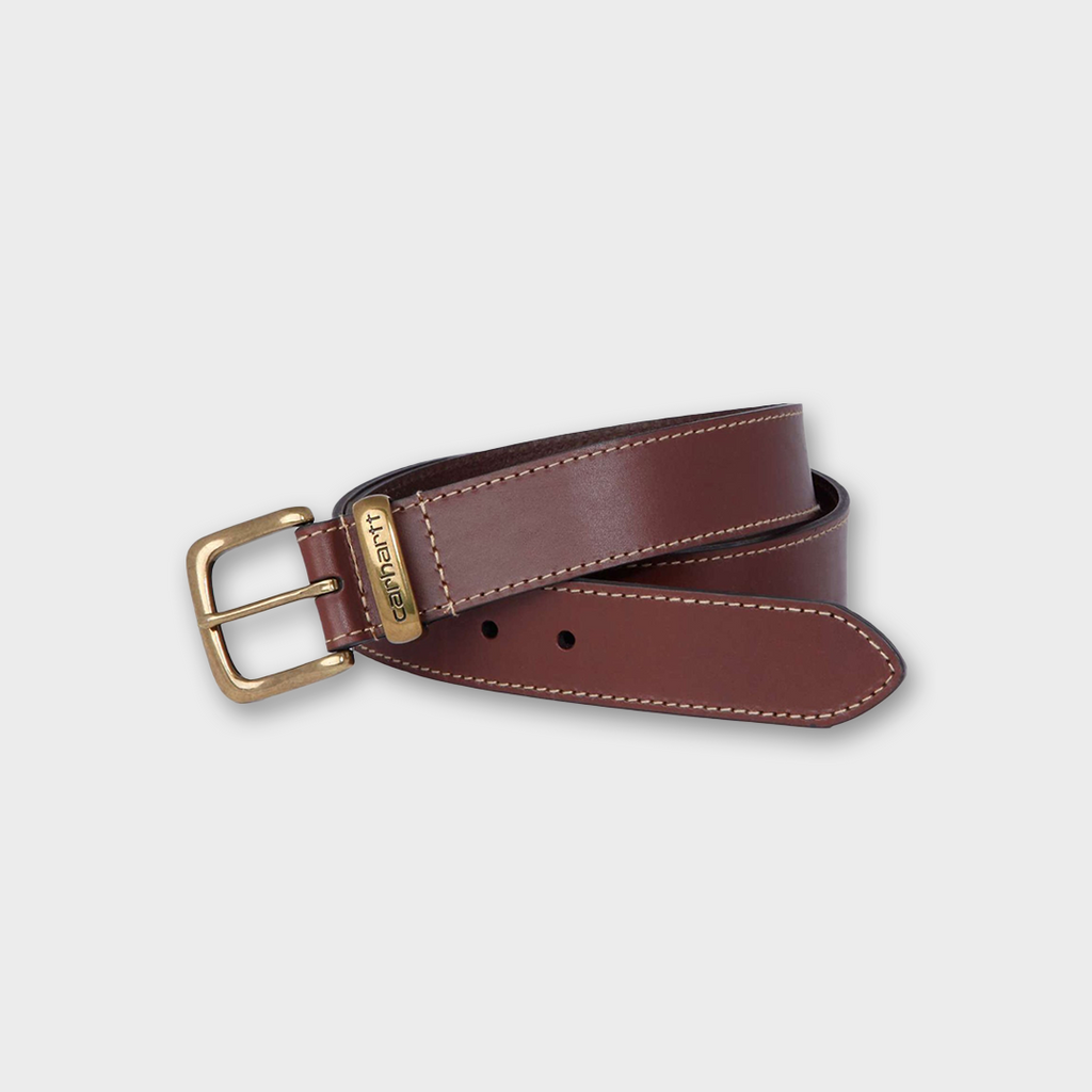 Carhartt workwear USA Leather Jean Belt - Brown