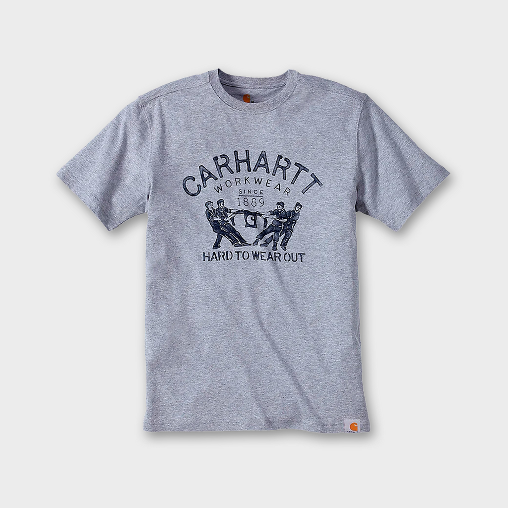 Carhartt Hard to Wear Out T-Shirt - Heather Grey