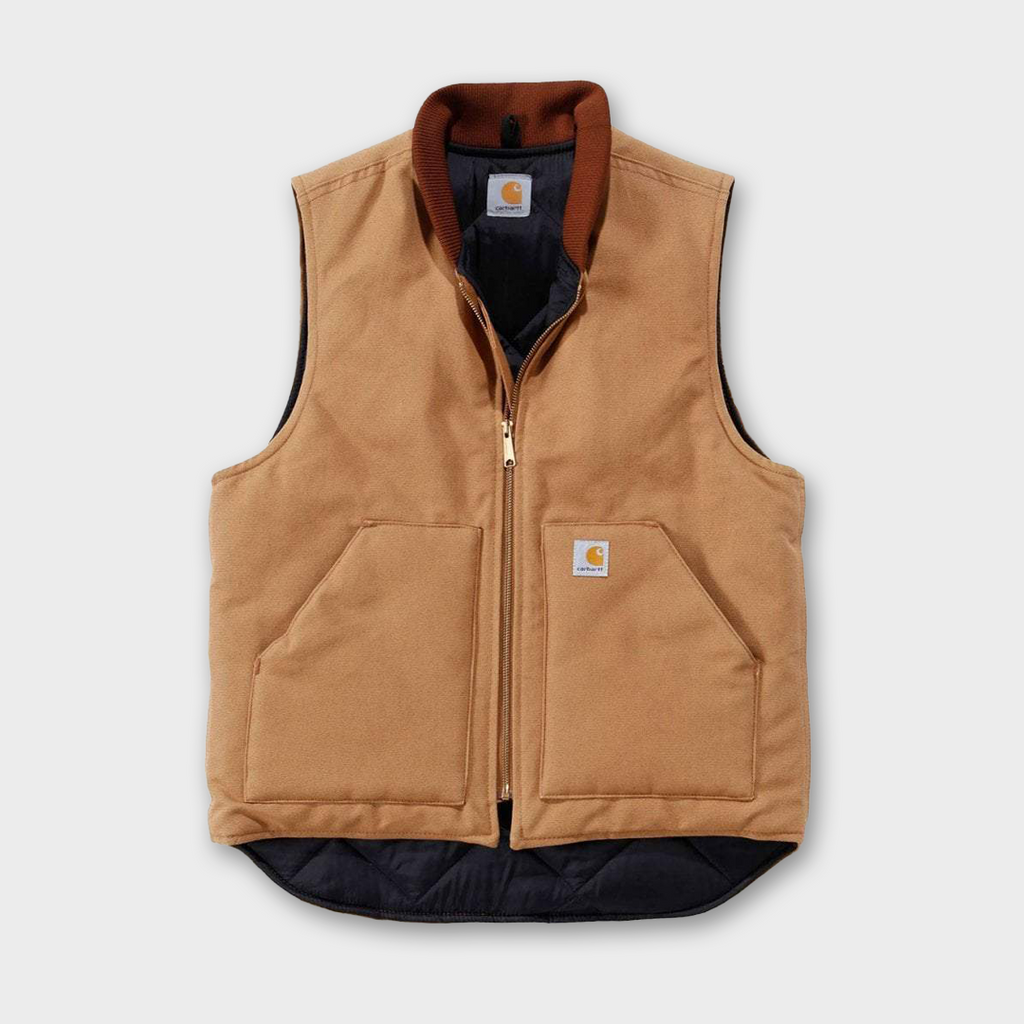 Carhartt Workwear USA Arctic Vest - Carhartt Brown