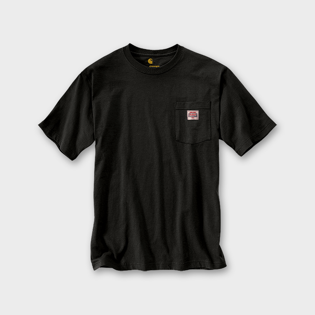 Carhartt Workwear USA Heritage K87 Icon T-shirt - Black