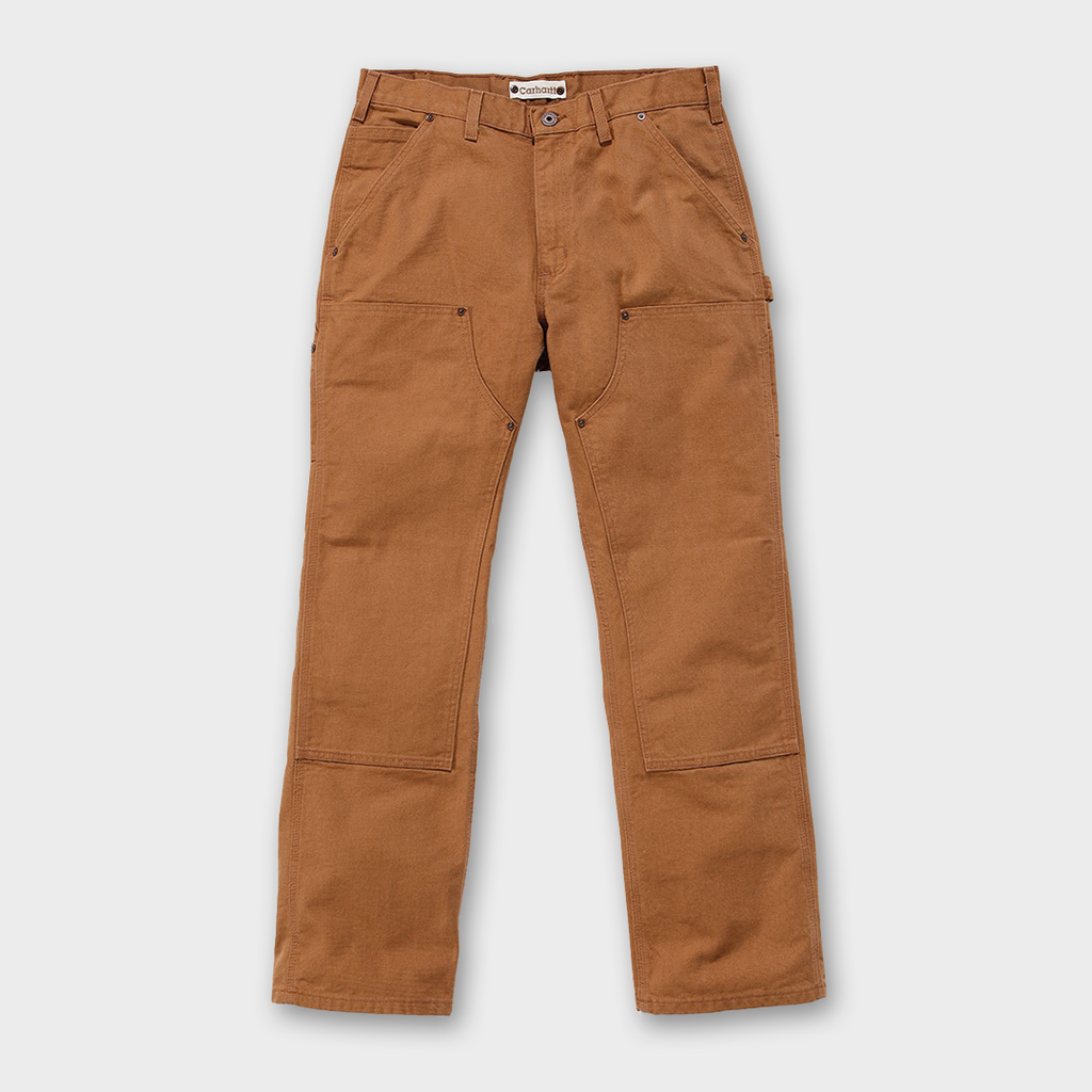 Carhartt Workwear USA Double Front Work Pant - Carhartt Brown