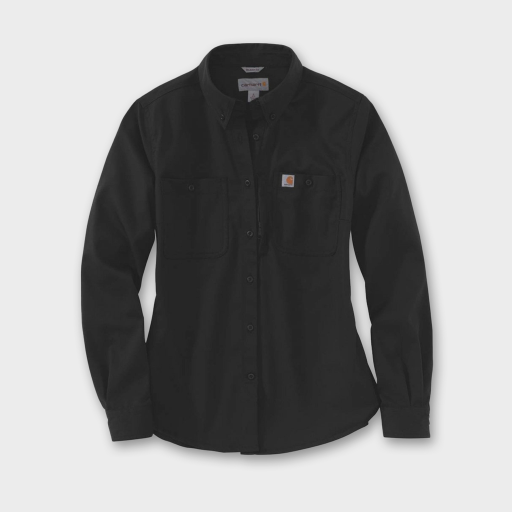 Carhartt Workwear USA Womens Rugged Professional Shirt - Black