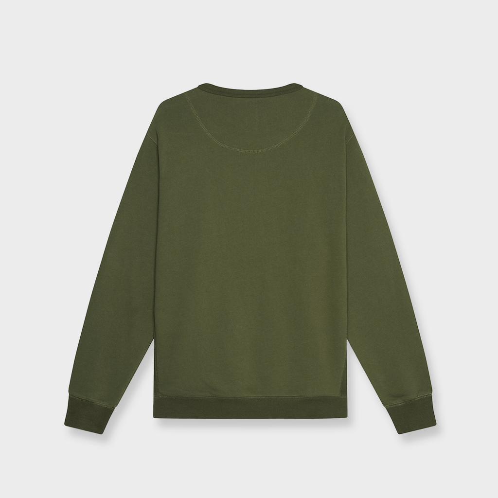 Dubbleware Tops Them All Sweatshirt - Military Green